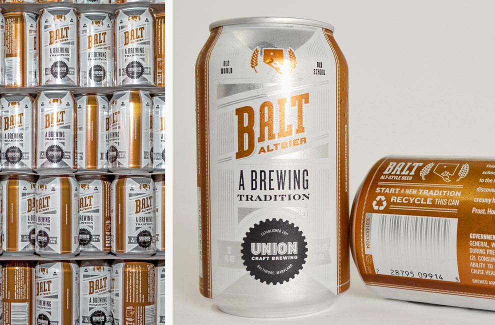 Altbier Cans - Union Craft Brewery