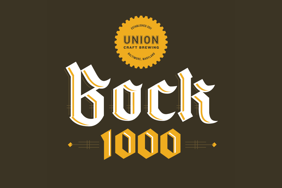 Union craft brewing bock 1000 union craft brewing for Union craft brewing baltimore md